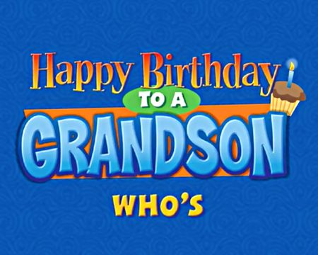 Birthday Ecards For Grandson