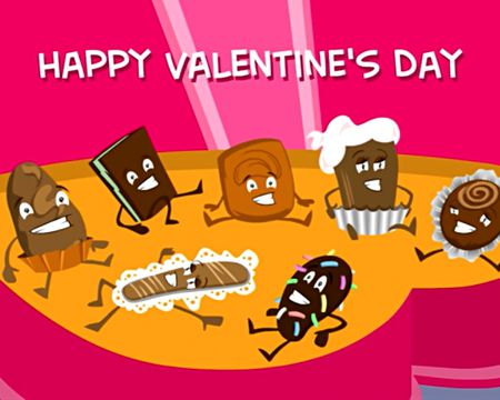 Singing Ecard:  Chocolate Chorus