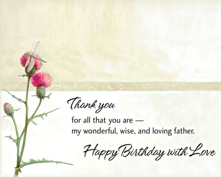Birthday ecards for father american greetings my wonderful father ecard m4hsunfo