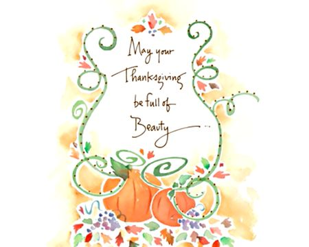 Warm Thanksgiving Wishes Kathy Davis