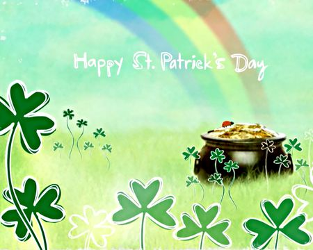 St patricks day ecards american greetings pot of gold wishes ecard m4hsunfo