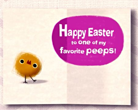 Easter ecards for kids american greetings favorite easter peeps ecard m4hsunfo Image collections
