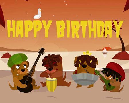 Reggae Birthday Song