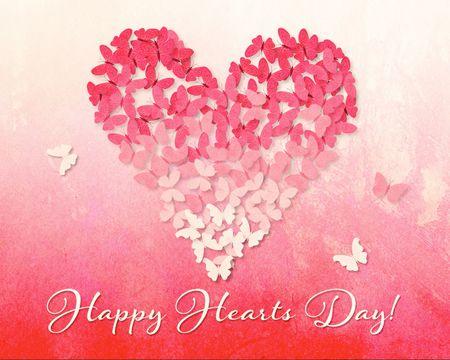 Butterfly Heart Valentine