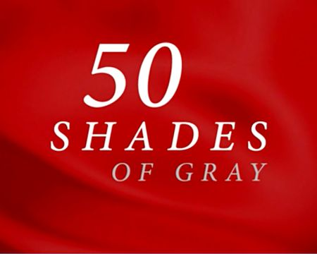 50 Shades of Gray Valentine