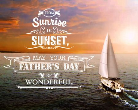 Smooth Sailing Father's Day