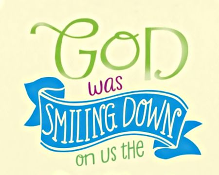 God Smiled - Everyday Grace
