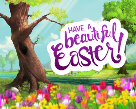 Easter cards send easter greetings from american greetings a beautiful easter ecard m4hsunfo