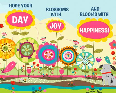 Ecards send online greeting cards american greetings blooming with happiness m4hsunfo