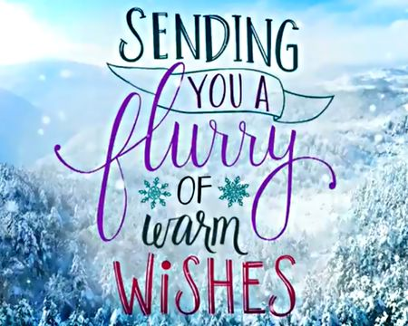 Sending Warm Wishes