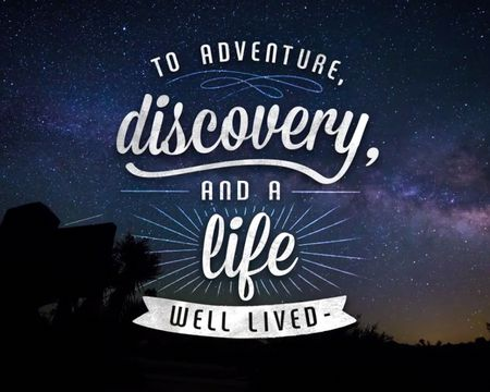 To Adventure and Discovery (Poem)