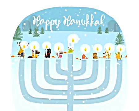 Hanukkah ecards american greetings and many menorah ecard m4hsunfo