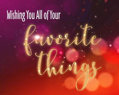 my favorite things holiday famous tune - Animated Christmas Greetings