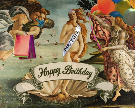Funny Fine Art Birthday (Song)