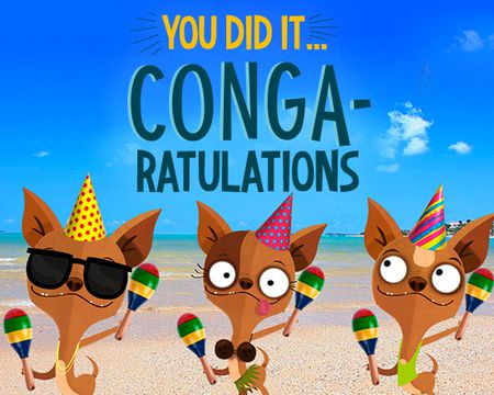Conga-ratulations (Famous Song)