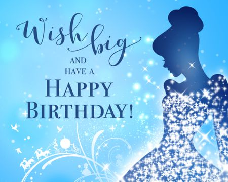 Birthday ecards send birthday cards online with american greetings wish big cinderella birthday ecard m4hsunfo