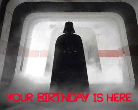 Star Wars™ Darth Vader Birthday