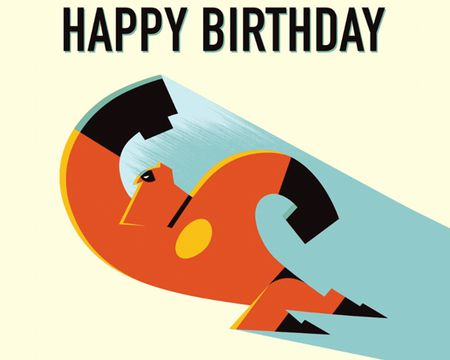 Incredibles 2TM Birthday Ecard