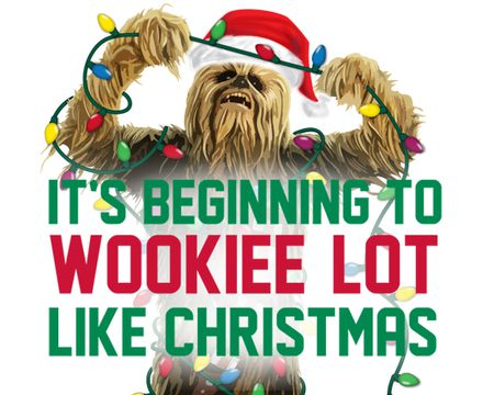 Star Wars? Chewbacca Christmas Ecard