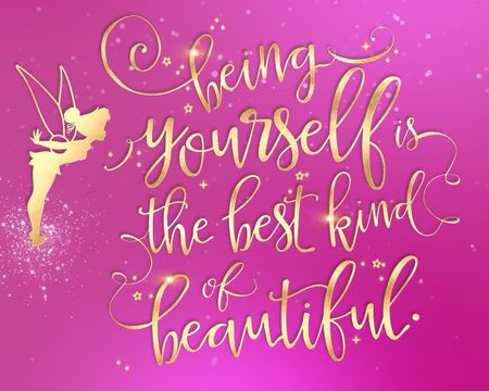 The Best Kind of Beautiful - Tinkerbell™ Birthday Ecard