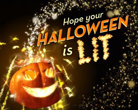 'Fireball' Halloween Ecard (Famous Song)