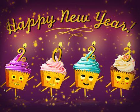 New Years Ecards