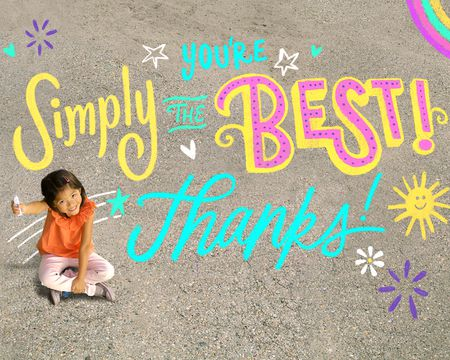 Simply the Best Thank You Ecard (Famous Song)