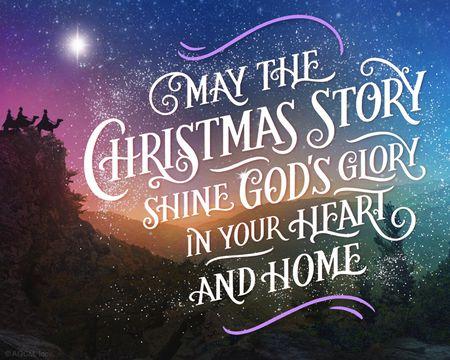 O Holy Night Christmas Ecard (Hymn)