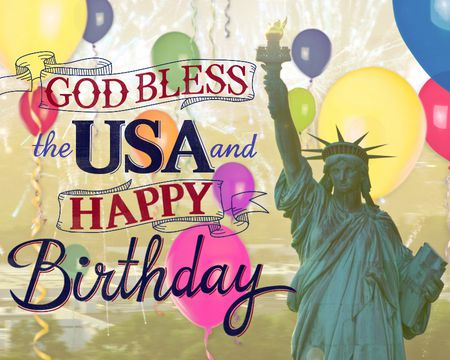 God Bless the USA Birthday (Famous Song)