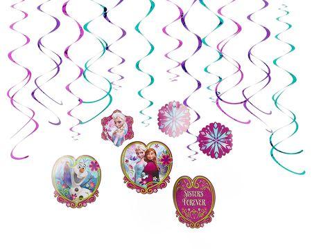 frozen swirl decor value pack
