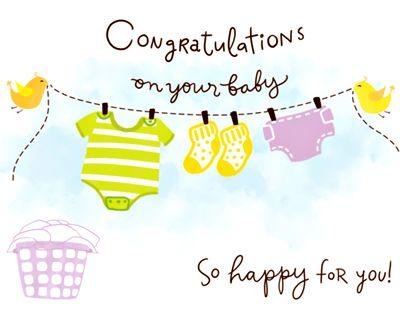 Happy Baby Wishes