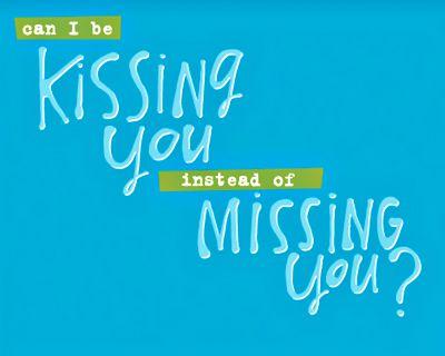Miss Your Kiss (Postcard)