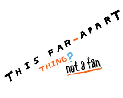 Far Apart (Postcard)