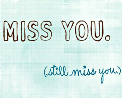 Miss You Always (Postcard)