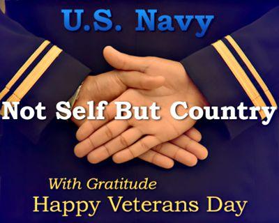 Navy Veterans Day