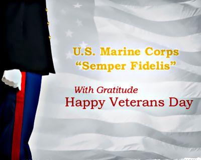 Marine Corps Veterans Day