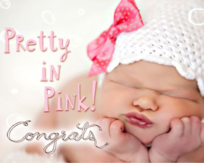 Pretty in Pink (Postcard)