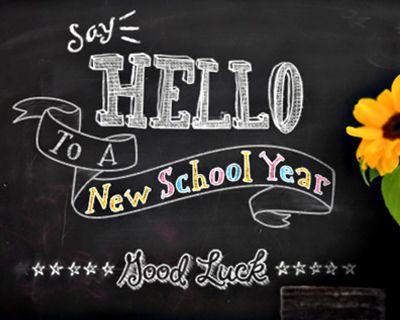Back-to-School Hello