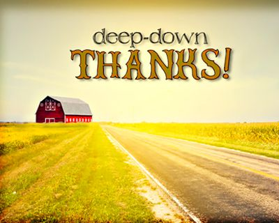 Deep-Down Thanks Reply