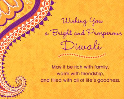 Bright and Prosperous Diwali