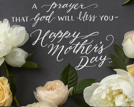 A Mother's Day Prayer Ecard