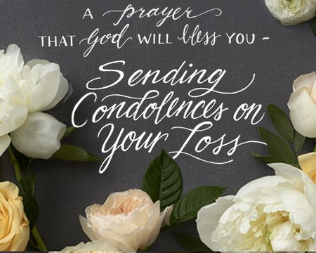 Condolences on Your Loss Ecard (Postcard)