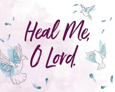 A Prayer for Healing (Postcard)