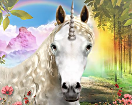 Magical Unicorn (Talking Card)