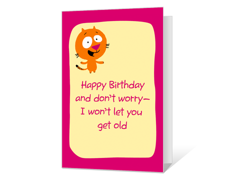 Funny printable birthday cards american greetings youre not old bookmarktalkfo Image collections
