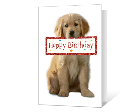 Crafty image regarding dog birthday cards printable free