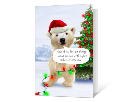 picture about Funny Printable Christmas Cards named humorous Printable xmas Playing cards - American Greetings