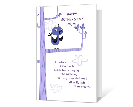 graphic about Funny Printable Mothers Day Cards named amusing Printable moms working day Playing cards - American Greetings