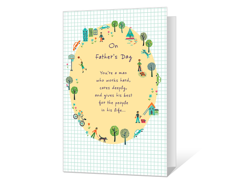 Fathers day cards fathers day greetings american greetings you mean so much printable m4hsunfo