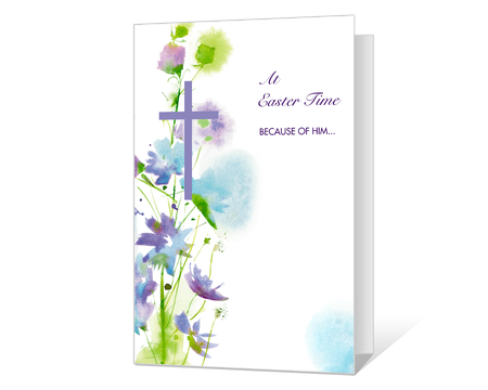 picture regarding Free Printable Easter Cards Religious identified as spiritual Printable easter Playing cards - American Greetings